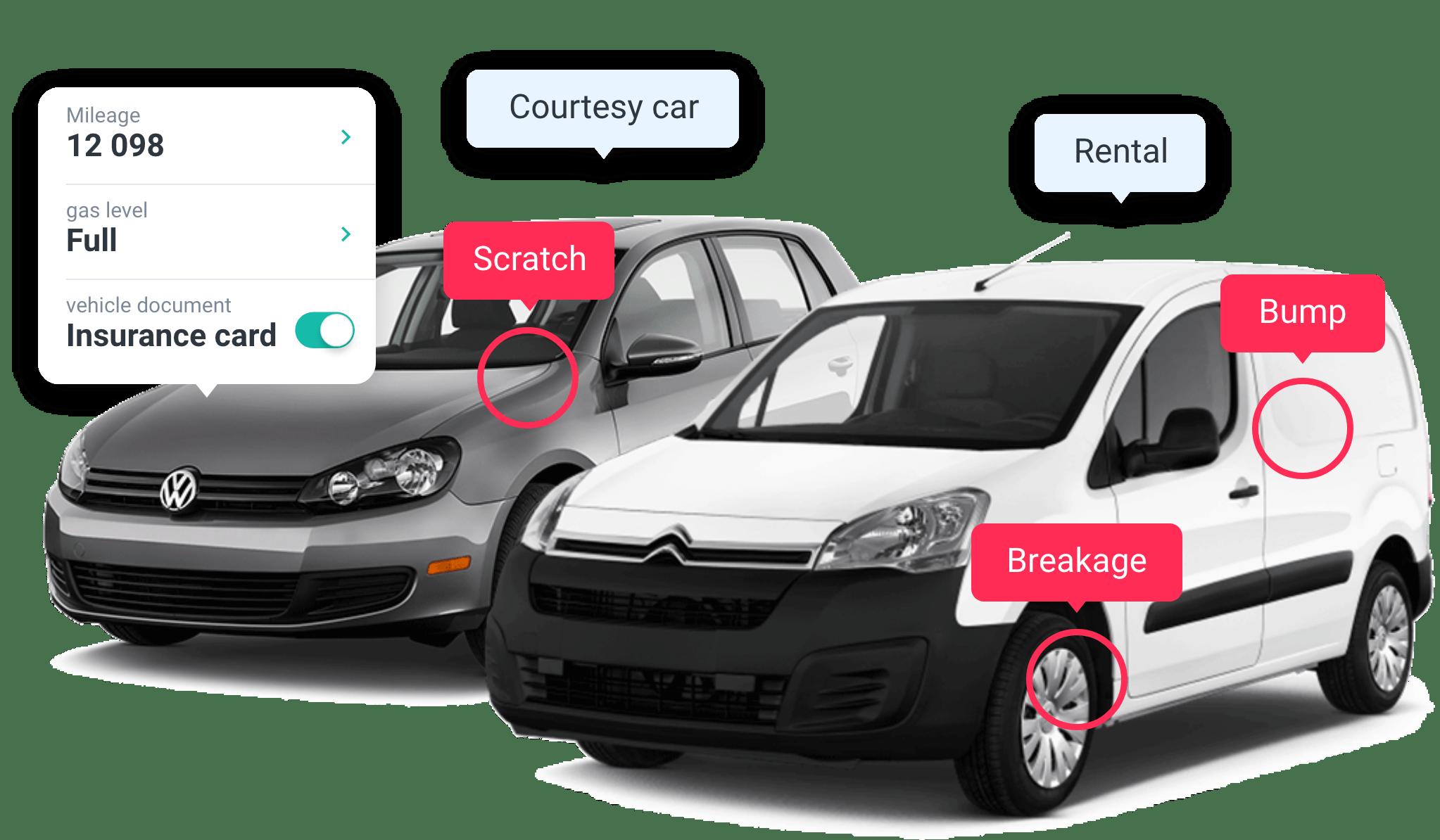 car damage software