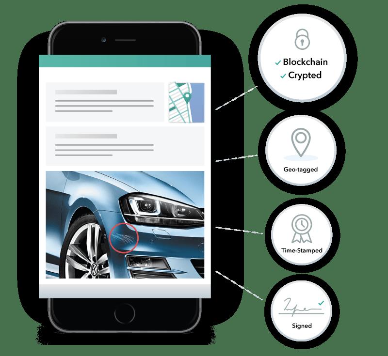 car damage software monitoring